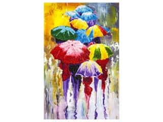 craft & hobbies: Diamond Art Kit 14 x 16 in. Rainy Day