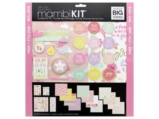 Me&My Big Ideas Kit Scrapbook 12 in. x 12 in. Baby Girl