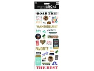 scrapbooking & paper crafts: Me&My Big Ideas Sticker Specialty Pack Your Bags