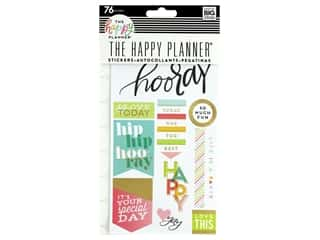 scrapbooking & paper crafts: Me&My Big Ideas Collection Create 365 Happy Planner Sticker Snap In I Love Today