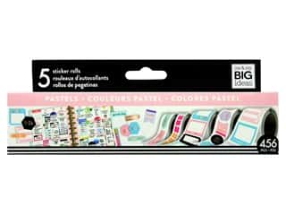 scrapbooking & paper crafts: Me&My Big Ideas Collection Create 365 Happy Planner Sticker Roll Pastels
