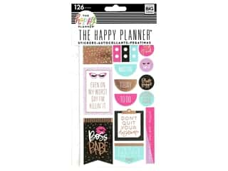 Me&My Big Ideas Happy Planner Sticker Snap In Boss Babe