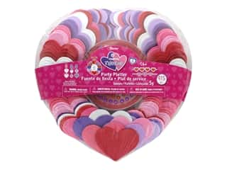 craft & hobbies: Darice Foamies Kit Party Platter Hearts