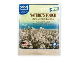 Pellon Batting Nature's Touch Cotton Crib Natural