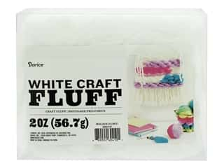 craft & hobbies: Darice Craft Fluff 2 oz. White