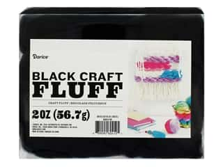 craft & hobbies: Darice Craft Fluff 2 oz. Black