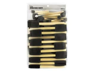 craft & hobbies: Darice Foam Brush Set 60 pc. Assorted