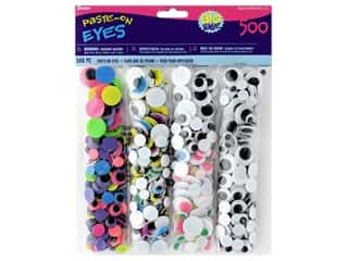 multi colored centers wiggle eyes: Darice Eyes Value Pack Assorted 500 pc