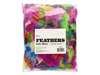 craft & hobbies: Darice Feather Mixed Vivid