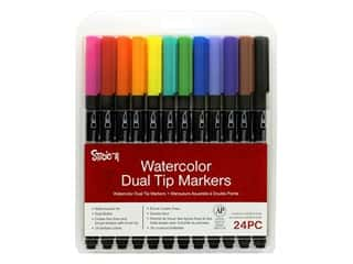 craft & hobbies: Darice Studio 71 Marker Watercolor 24 pc