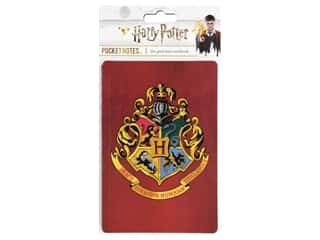 books & patterns: Paper House Collection Life Organized Pocket Notes Warner Bros Harry Potter Hogwarts Crest