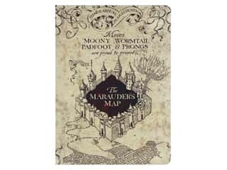 Paper House Collection Life Organized Journal Warner Bros Harry Potter Marauders Map