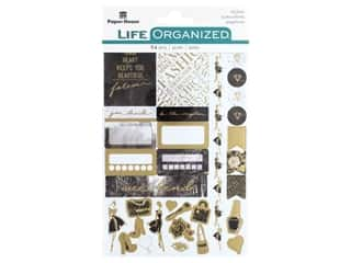 scrapbooking & paper crafts: Paper House Collection Life Organized Sticker Planner Fifth Avenue