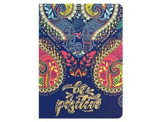 Paper House Life Organized Journal Soft Cover Paisley Navy