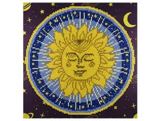 craft & hobbies: Diamond Art Kit 12 x 12 in. Sun Mandala