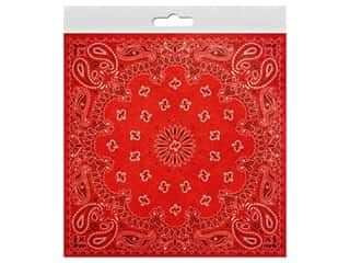 Paper House 12 in. x 12 in. Paper 100% Country Red Bandana (25 sheets)