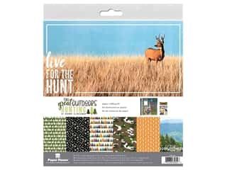Paper House Paper Kit 12 in. x 12 in. Outdoors Hunting