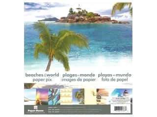 Paper House Paper Pad 12 in. Beaches Of The World