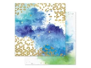 watercolor paper: Paper House Paper 12 in. x 12 in. Color Washed (15 pieces)