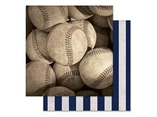 Paper House Paper 12 in. x 12 in. Baseballs (15 pieces)