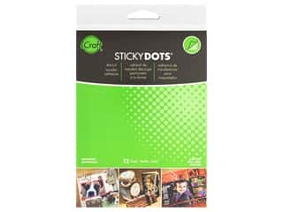 glues, adhesives & tapes: Therm O Web Sticky Dots Adhesive Sheets 4 1/2 x 5 1/2 in. 12 pc.