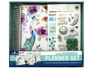 scrapbooking & paper crafts: Paper House Collection Life Organized Planner Mini Set Peacock