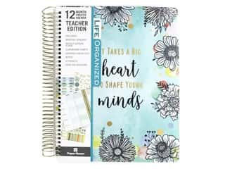 scrapbooking & paper crafts: Paper House Collection Life Organized Planner 12 Month Teacher