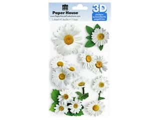 Paper House Sticker 3D Oxeye Daisy