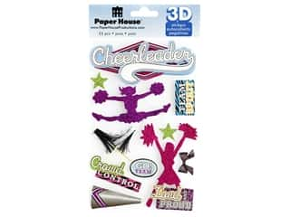 Paper House Sticker 3D Cheerleader