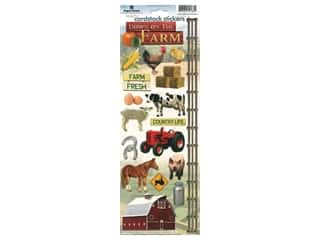 scrapbooking & paper crafts: Paper House Sticker Cardstock On The Farm