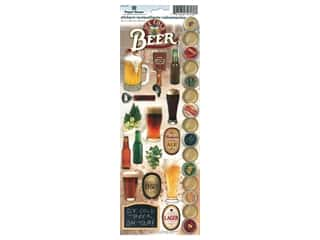 scrapbooking & paper crafts: Paper House Sticker Cardstock Beer