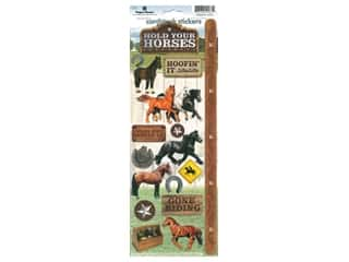 scrapbooking & paper crafts: Paper House Sticker Cardstock Horses