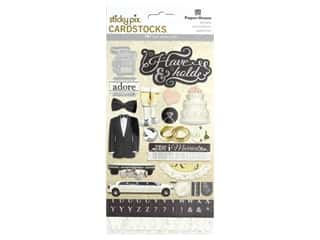 scrapbooking & paper crafts: Paper House Sticker Cardstock Multi Pack To Have & To Hold