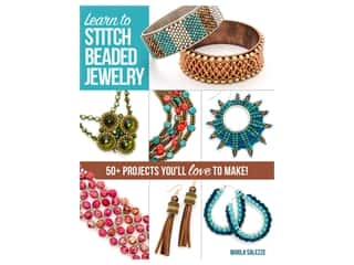 beading & jewelry making supplies: Kalmbach Learn To Stitch Beaded Jewelry Book