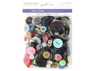 craft & hobbies: Multicraft Buttons Mega Pack Medley