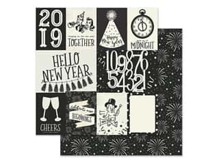 scrapbooking & paper crafts: Simple Stories Collection 2019 Paper 12 in. x 12 in. Elements 3 in. x 4 in. & 4 in. x 6 in. (25 pieces)