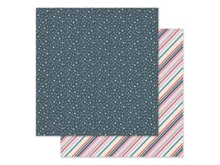 scrapbooking & paper crafts: Simple Stories Collection Freezin Season Paper 12 in. x 12 in. Shiverin' (25 pieces)