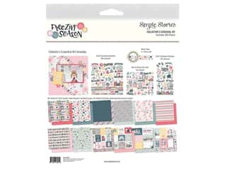 scrapbooking & paper crafts: Simple Stories Collection Freezin Season Collector's Essential Kit