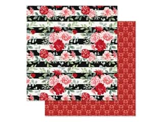 Simple Stories Collection Kissing Booth Paper 12 in. x 12 in. Smitten (25 pieces)