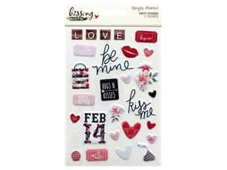 Clearance: Simple Stories Collection Kissing Booth Sticker Puffy