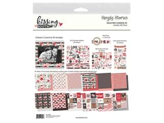 scrapbooking & paper crafts: Simple Stories Collection Kissing Booth Collector's Essential Kit
