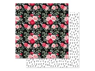 Simple Stories Collection Kissing Booth Paper in. Love & Adore (25 pieces)