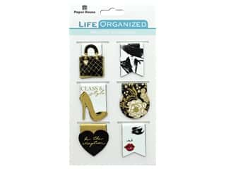 Paper House Collection Life Organized Magnetic Bookmark Fifth Ave