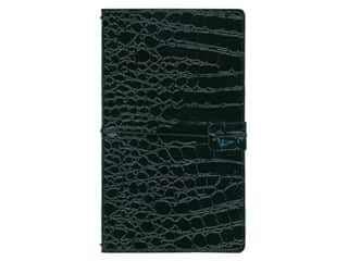 elastic: Paper House Collection Life Organized Journey Book Cover Alligator Black