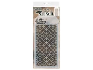 craft & hobbies: Stampers Anonymous Tim Holtz Layering Stencil - Latticework