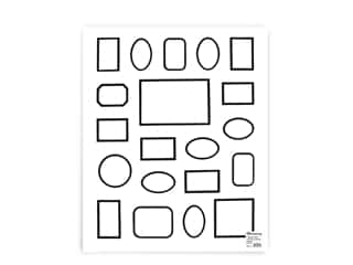 PA Framing Pre-cut Double Photo Mat Board White Core 16 x 20 in. 20 Openings White/Black