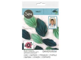 Sizzix Dies David Tutera Thinlits Fan Leaf