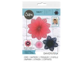 Sizzix Dies David Tutera Thinlits Mandala Fan