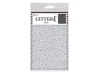 Ranger Letter It Stencil 4.75 in. x 6 in. Party Time