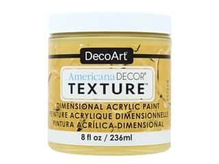 craft & hobbies: DecoArt Americana Decor Texture Acrylic Harvest Gold 8 oz